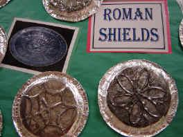Roman Shield Activity Paper Plate Education